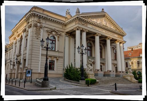 Pensiunea Laura Sanmartin Oradea Teatru Exterior